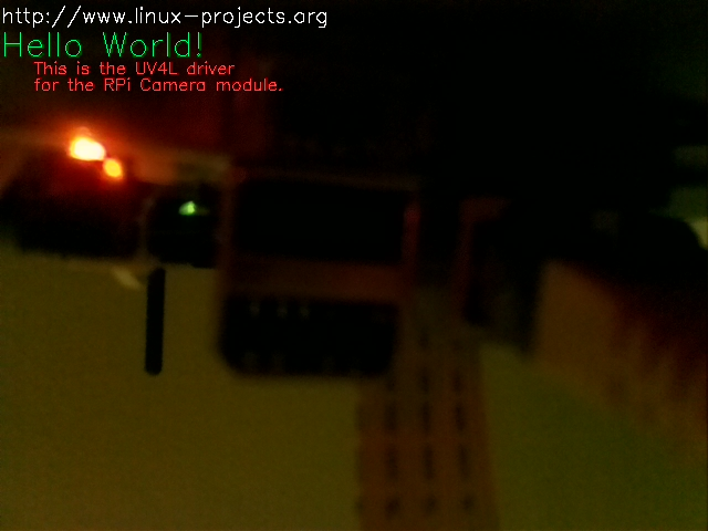 Use cases about the V4L2 driver for the Dual Raspberry Pi Camera